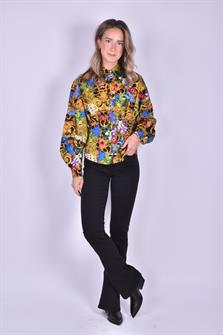 versace jeans couture blouse